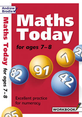Maths Today for Ages 7-8 - Maths Today S. (Paperback)