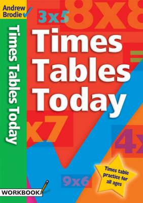 Times Tables Today - Times Tables (Paperback)