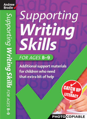 Supporting Writing Skills 8-9 - Supporting Writing Skills (Paperback)