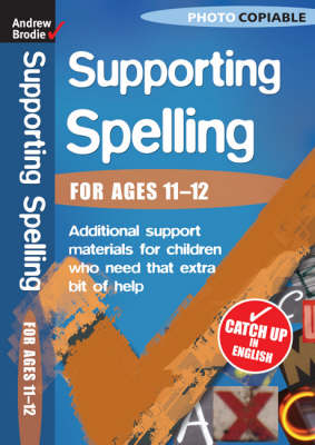 Supporting Spelling 11-12 - Supporting Spelling (Paperback)