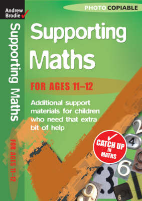 Maths 11-12 - Supporting Maths (Paperback)