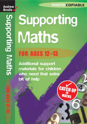 Maths 12-13 - Supporting Maths (Paperback)