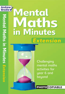 Mental Maths in Minutes: Extentsion - Mental Maths in Minutes (Paperback)