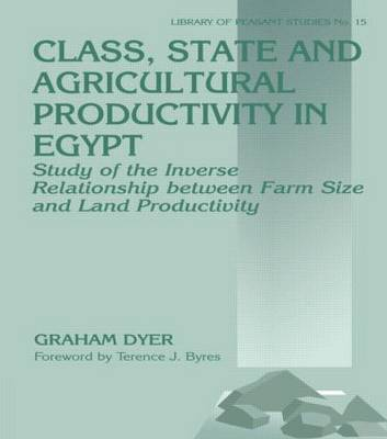 Class, State, and Agricultural Productivity in Egypt: Study of the Inverse Relationship Between Farm Size and Land Productivity - Library of Peasant Studies No. 15 (Hardback)