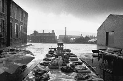 Jubilee Street Party, Elland, Yorkshire,1977: From 'Bad Weather' - Martin Parr Collector's Edition (Hardback)