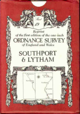 Ordnance Survey Maps: Southport and Ravenglass No. 19 - Victorian Ordnance Survey 19 (Sheet map, folded)
