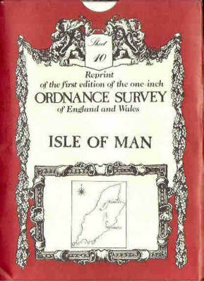 Ordnance Survey Maps: Isle of Man No. 10 - Victorian Ordnance Survey 10 (Sheet map, folded)