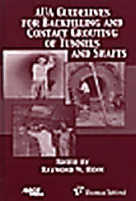 AUA Guidelines for Backfilling and Contact Grouting of Tunnels and Shafts (Hardback)