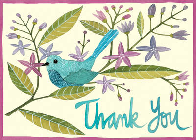 Avian Friends Parcel Thank You Notes (Postcard book or pack)