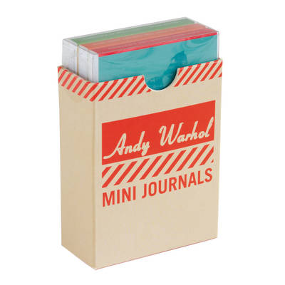 Andy Warhol Philosophy Mini Journal Set (Notebook / blank book)
