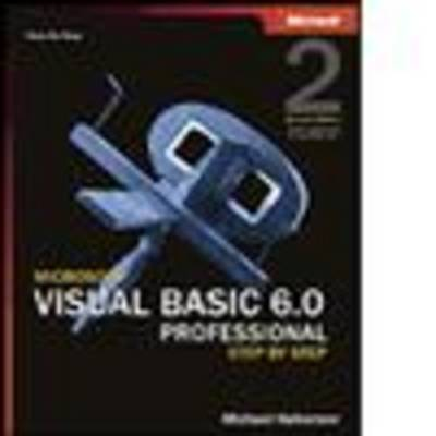 Microsoft Visual Basic 6.0 Professional Step by Step (Mixed media product)
