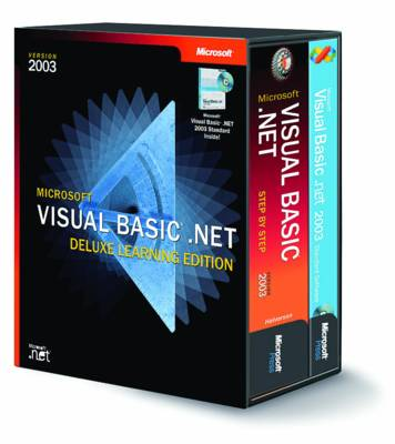 Microsoft Visual Basic .NET Deluxe Learning Edition--version 2003: Step by Step (Mixed media product)