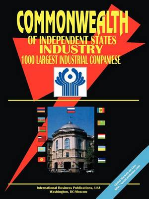 Cis Industry: 1000 Largest Industrial Companies (Paperback)