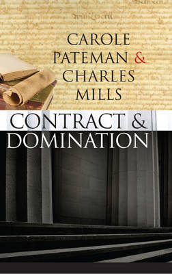 The Contract and Domination (Hardback)