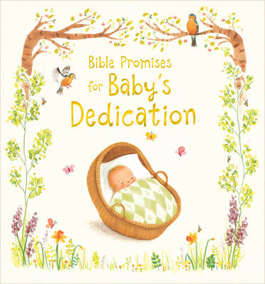 Bible Promises for Baby's Dedication (Hardback)
