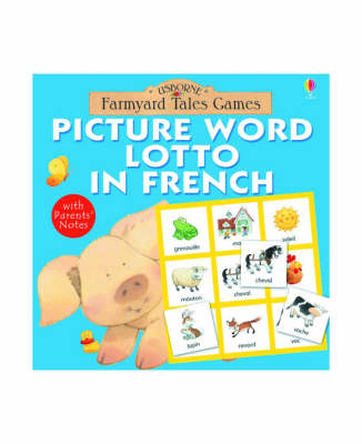 Picture Word Lotto in French - Farmyard Tales Board Games (Game)