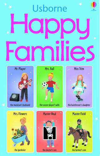 Happy Families Game (Hardback)