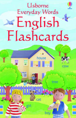 Everyday Words in English - Usborne Everyday Words (Cards)