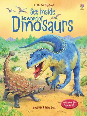 See Inside the World of Dinosaurs - Usborne See Inside (Board book)