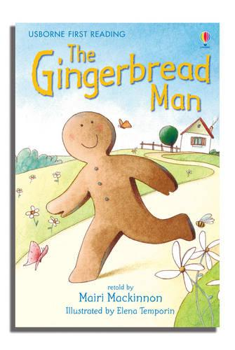 The Gingerbread Man: Level 3 - Usborne First Reading (Hardback)