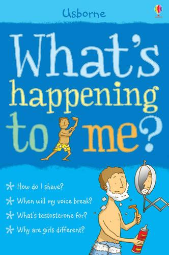What's Happening to Me?: Boy - What's Happening? (Paperback)