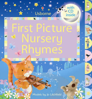 First Picture Nursery Rhymes - Usborne First Picture Books (Mixed media product)