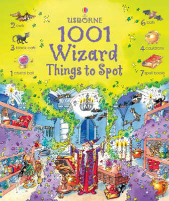 1001 Wizard Things to Spot - 1001 Things to Spot (Hardback)