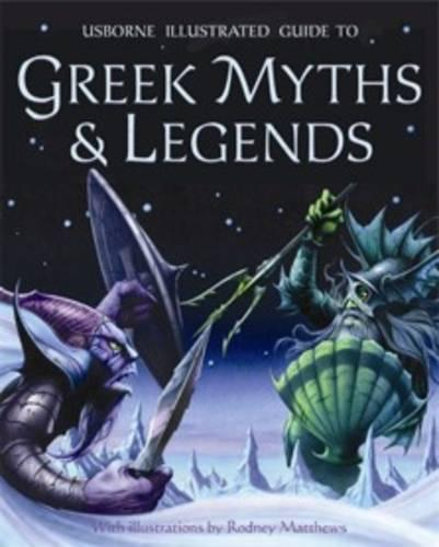 Greek Myths and Legends - Usborne Myths & Legends (Paperback)