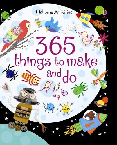 365 Things to Make and Do - Usborne Activities (Spiral bound)