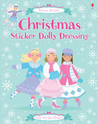 Christmas Sticker Dolly Dressing - Sticker Dolly Dressing (Paperback)