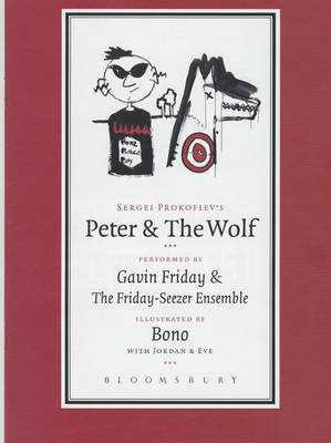 Peter and the Wolf: Performed by Gavin Friday and the Friday-Seezer Ensemble (Mixed media product)