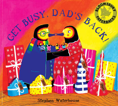 Get Busy,Dad's Back! (Paperback)