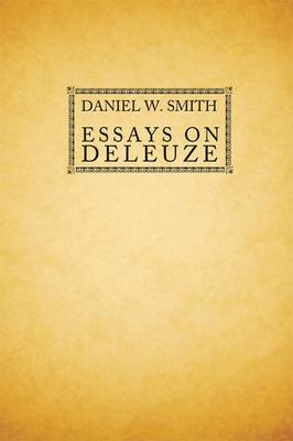 Essays on Deleuze (Paperback)