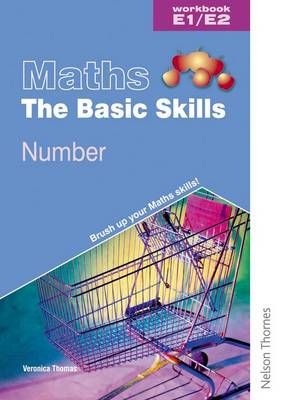 Maths the Basic Skills Number Workbook E1/E2 (Paperback)