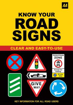 AA Know Your Road Signs (Paperback)