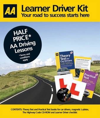 The Learner Driver Kit: AA Driving Test (Mixed media product)
