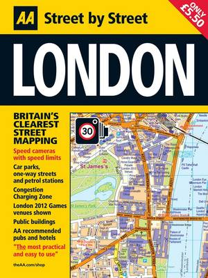 London Midi - AA Street by Street (Paperback)