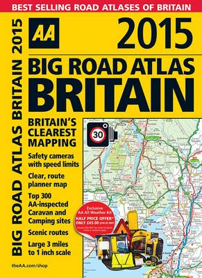 AA Big Road Atlas Britain 2015 (Spiral bound)