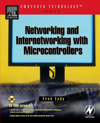 Networking and Internetworking with Microcontrollers (Paperback)