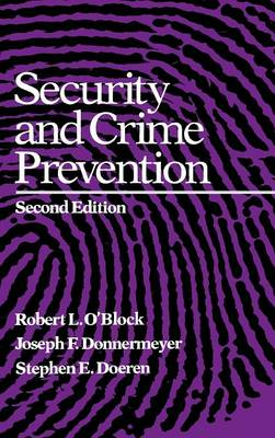 Security and Crime Prevention (Hardback)