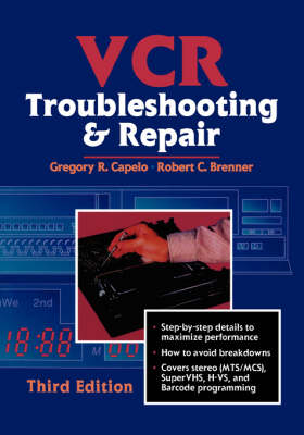 VCR Troubleshooting and Repair (Paperback)