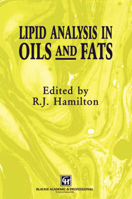 Lipid Analysis of Oils and Fats (Hardback)