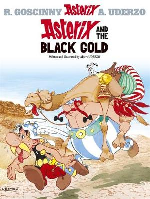 Asterix and the Black Gold: Album 26 (Hardback)