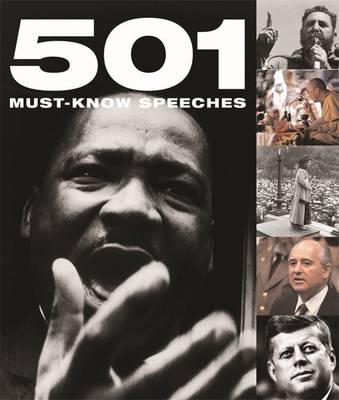 501 Must-know Speeches - 501 Series (Hardback)