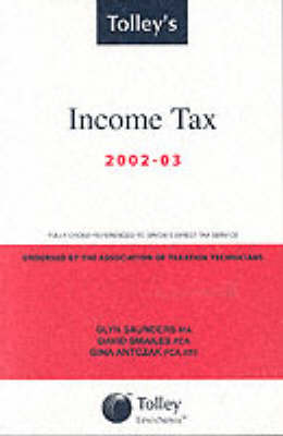 Tolley's Income Tax 2002-03: Main Annual (Paperback)