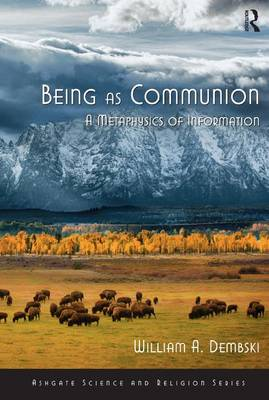 Being as Communion: A Metaphysics of Information - Ashgate Science and Religion Series (Paperback)