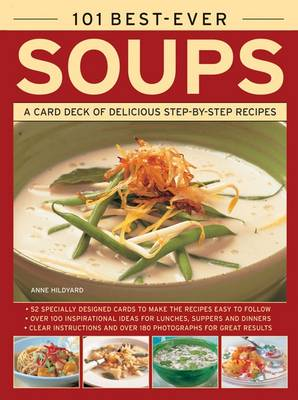 101 Best-Ever Soups: A Card Deck of Delicious Step-by-Step Recipes (in a Tin) (Cards)