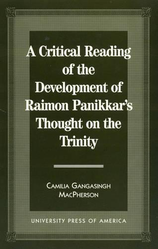 A Critical Reading of the Development of Raimon Panikkar's Thought on the Trinity (Hardback)