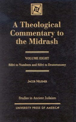 A Theological Commentary to the Midrash: Sifrz to Numbers and Sifrz to Deuteronomy - Studies in Judaism (Hardback)