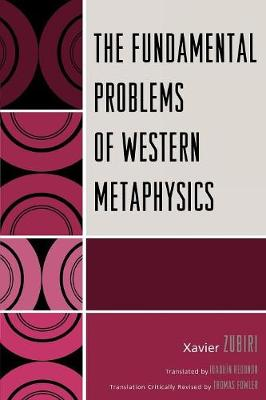 The Fundamental Problems of Western Metaphysics (Paperback)